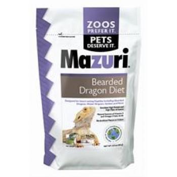 Mazuri Bearded Dragon Diet 8 oz 5MKJ