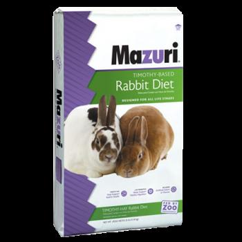 Mazuri Rabbit Diet with Timothy Hay 25 lb 530Q