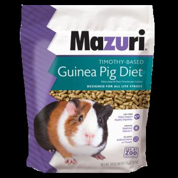Mazuri Timothy-Based Guinea Pig Diet 5E6A 5lb