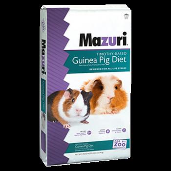 Mazuri Timothy-Based Guinea Pig Diet 25 lb 5E6A