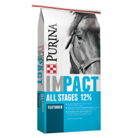 Purina Impact All Stages 12% Textured Horse Feed